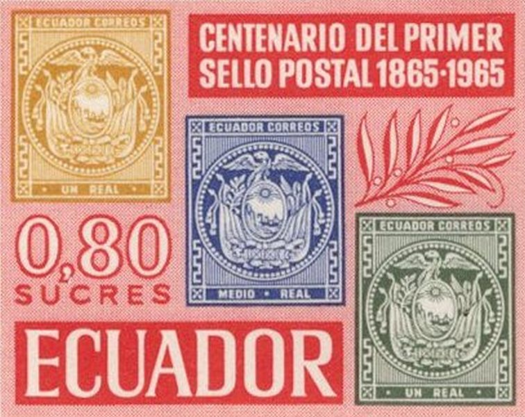 Ecuador 1965 feature image sello postal
