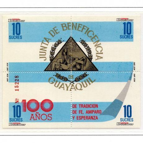 Ecuador Scott #1184a-d