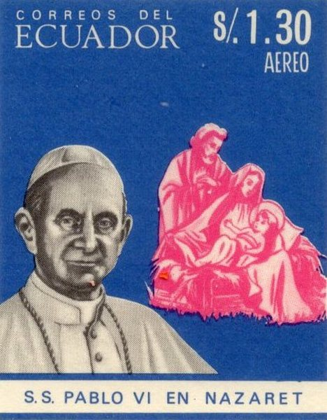 Ecuador 1966 feature image pope iv